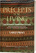 Precepts For Living: The UMI Annual Bible Commentary 2019-2020 Large Print