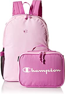 Champion Kids' Little Youth Backpack Removable Lunch Kit Combo