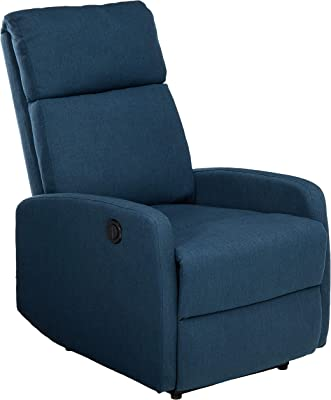 Amazon.com: Tuoze Fabric Recliner Chair Ergonomic Adjustable ...