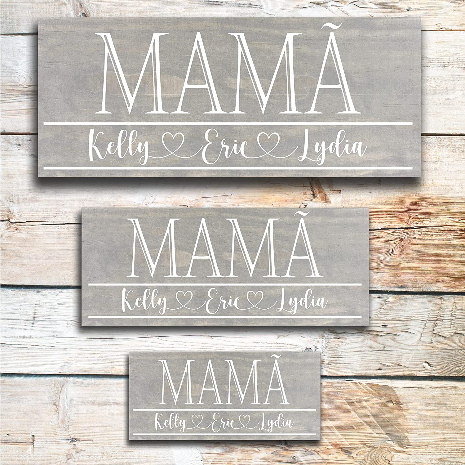 Mamã Grandma Mother's New Free Shipping Day Gif Personalized Gift New Free Shipping