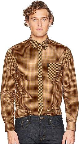 fee415423ab Ben sherman long sleeve dobby checkerboard shirt