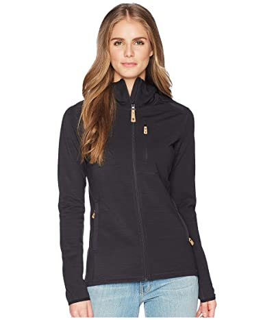 Fjallraven Keb Fleece Hoodie (Dark Grey) Women