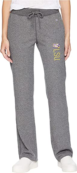 LSU Tigers University Fleece Open Bottom Pants
