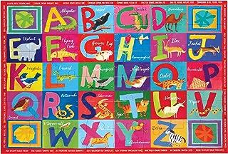 eeBoo Large Floor Puzzle for Kids, Alphabet ABC, 48 Pieces (3 x 2 feet)