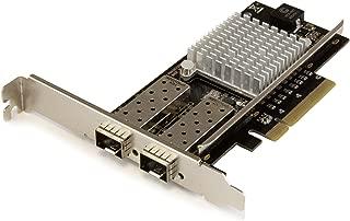StarTech.com 10GbE対応2ポート オープンSFP+搭載 光ファイバーネットワークカード PCI Express Intel 82599チップセット搭載 PEX20000SFPI