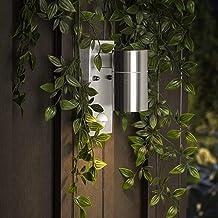 Smartwares GU10 fitting buiten-/wandlamp, met bewegingsmelder, roestvrij staal, downlight 7 x 1,5 x 16,5 cm