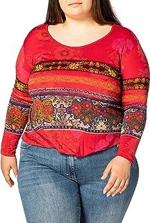 Desigual Women's T-Shirt Long Sleeve