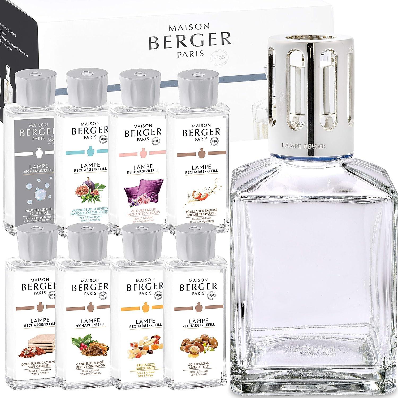 Lampe Berger Starterset Deluxe Cube inkl. groem Parfumpaket mit 8 Düften Winter Edition 2017