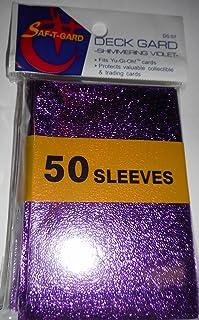 50 Shimmering Violet Deck Gard Sleeves for Yu-Gi-Oh size cards