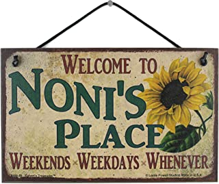 Sponsored Ad - 5x8 Vintage Style Sign with Sunflower Saying,