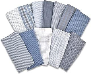 Joseph Abboud IWB Men's 12 Pack Cotton Classic Woven Boxer Underwear Sleep Shorts