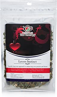 Lovers Instinct Herbal Tea - Organic Loose Leaf Herbal Tea – by Dr. Rosemary's Tea Therapy. Long Term Approach to Enhance Desire & Passion for Men & Women - Support Your Love Life