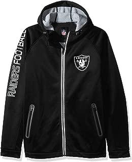 G-III Men's Motion Full Zip Hooded Jacket, Black, Medium