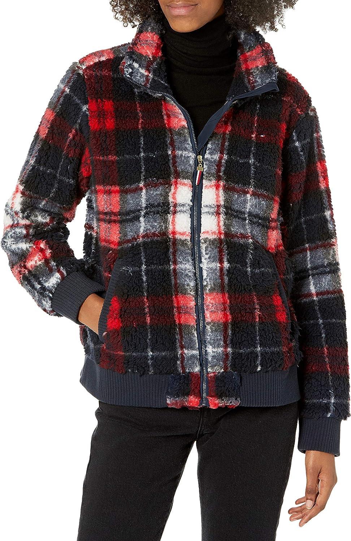Tommy Hilfiger Free shipping Women's Jacket Sherpa Soldering