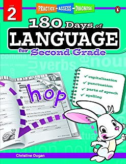 180 Days Of Language Grade 2