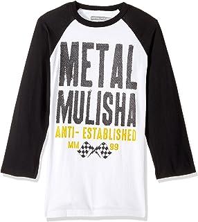 Metal Mulisha OG Block SS Short Sleeve TShirt Black Size XLarge