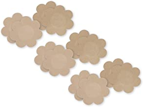 Fashion Forms Women's Disposable Breast Petals 6 Pack