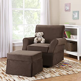 shermag bella deluxe glider rocker and ottoman