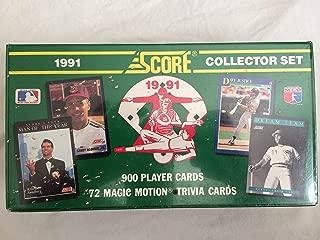 1991 score baseball cards value