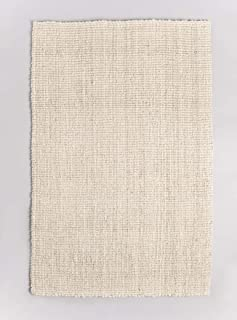 Fab Habitat Jute Rugs - Handmade, Soft Natural Feel Underfoot - Durable, Textured Weave - Area Rug for Indoor Use - Lassen...