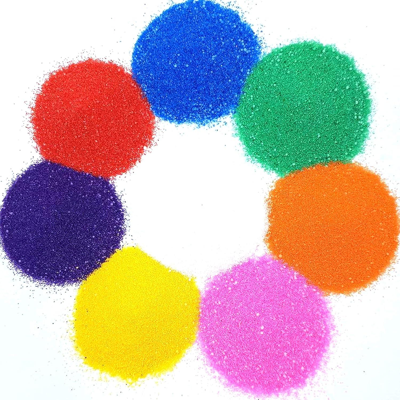 funkelnd pastell oder fluoreszierend leuchtende Farben ideal f/ür Sandkunst Laeto Proffesor Pinsel-Set 8 Shaker Rangoli- oder /Öko-Glitzer-Shaker erh/ältlich in leuchtenden Farben