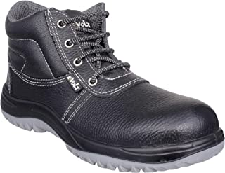 E-Volt 82267-Python-08 Safety Shoe, Steel Toe Cap for 200 Joules, Double Density PU Sole