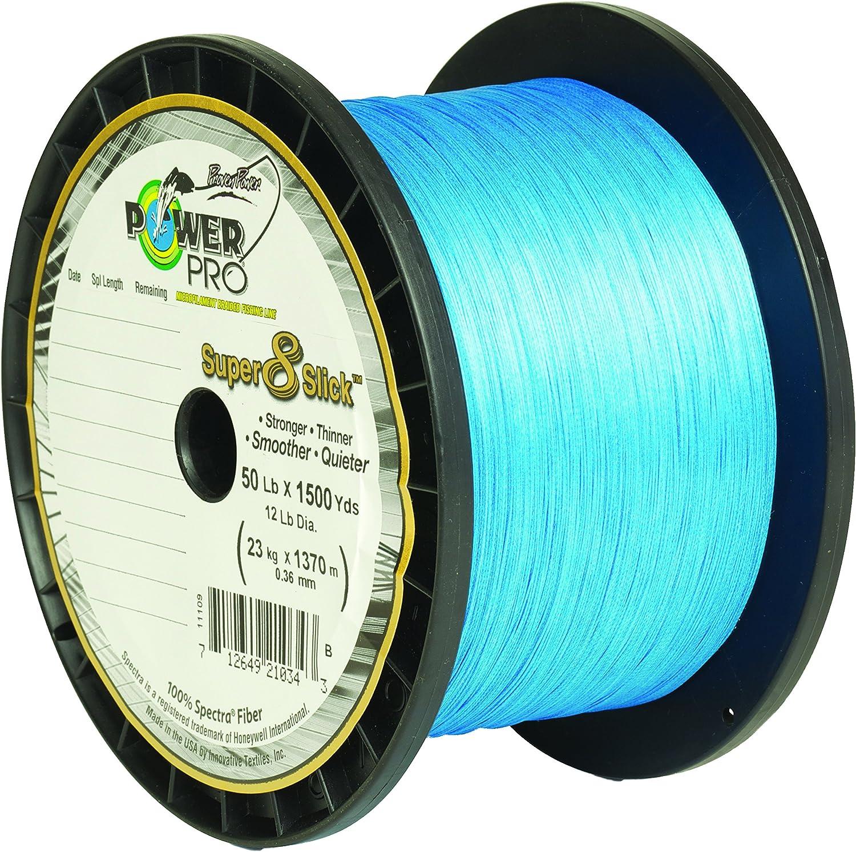 Power Pro 31100403000A Super Slick Fishing Line