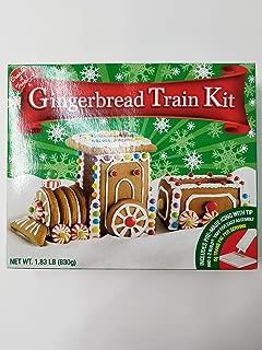 create a treat gingerbread train kit