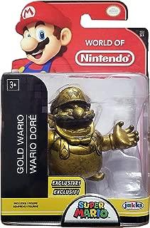 World of Nintendo Gold Wario Exclusive 2.5 Figure