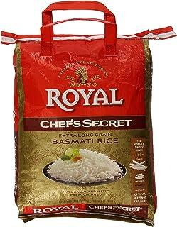 Royal Chef's Secret Extra Long Grain Basmati Rice, 10 Pound, White