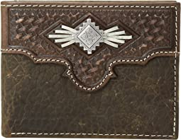 Aztec Concho with Lace Bifold Wallet