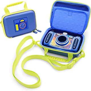 CASEMATIX Blue Kids Camera Case Compatible with VTech Kidizoom Camera and Small Vtech Camera for Kids Accessories , ONLY I...