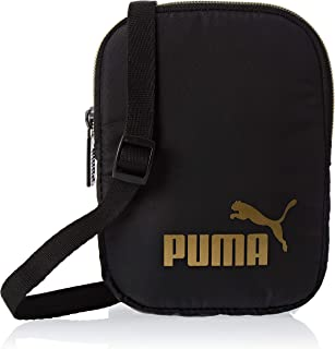 Puma Wmn Core Seasonal Flat Portable Black Bag For Women, Size One Size