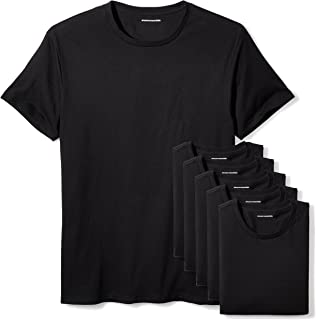 Amazon Essentials Men's 6-Pack Crewneck Undershirts