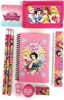 [ディズニー]Disney Pink Princess Wallet Trifold FREE Princess Stationary Set Kids Gift 8841disney [並行輸入品]