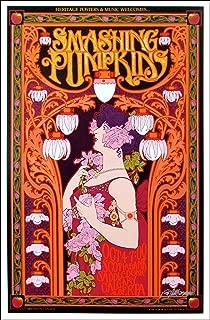 Bob Masse Smashing Pumpkins Poster Calgary Saddledome Beautiful Art Nouveau Signed Original Mint Includes Signed COA