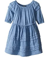 Polo Ralph Lauren Kids - Chambray Gauze Dress (Toddler)