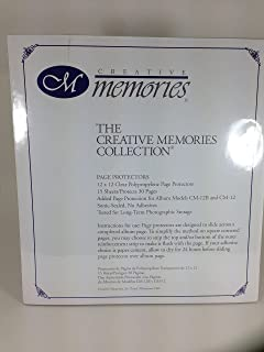 Creative Memories Page Protectors for Retired 12x12 Scrapbook Pages