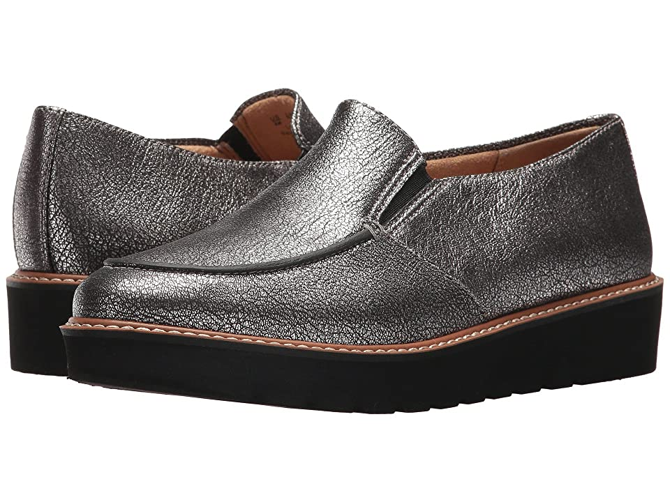 Naturalizer Aibileen (Silver Metallic Crackle Leather) Women
