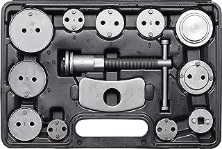 Kraftmann 1109 Juego de reposicionadores de pistones de freno 13 piezas, Negro