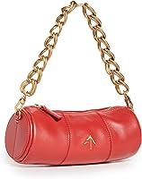 MANU Atelier Women's XX Mini Cylinder Bag, Red, One Size