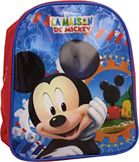 Kids Euroswan - Mochila Mickey Mouse Medidas 27,7 x 22,5 x 3,4 cm