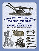 Turn-of-the-Century Farm Tools and Implements (Dover Pictorial Archive Series) (English Edition)