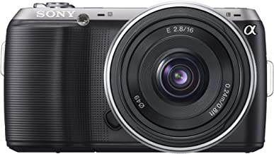 Sony Alpha NEX-C3 16 MP Compact Interchangeable Lens Digital Camera Kit with 18-55mm Zoom Lens (Black)