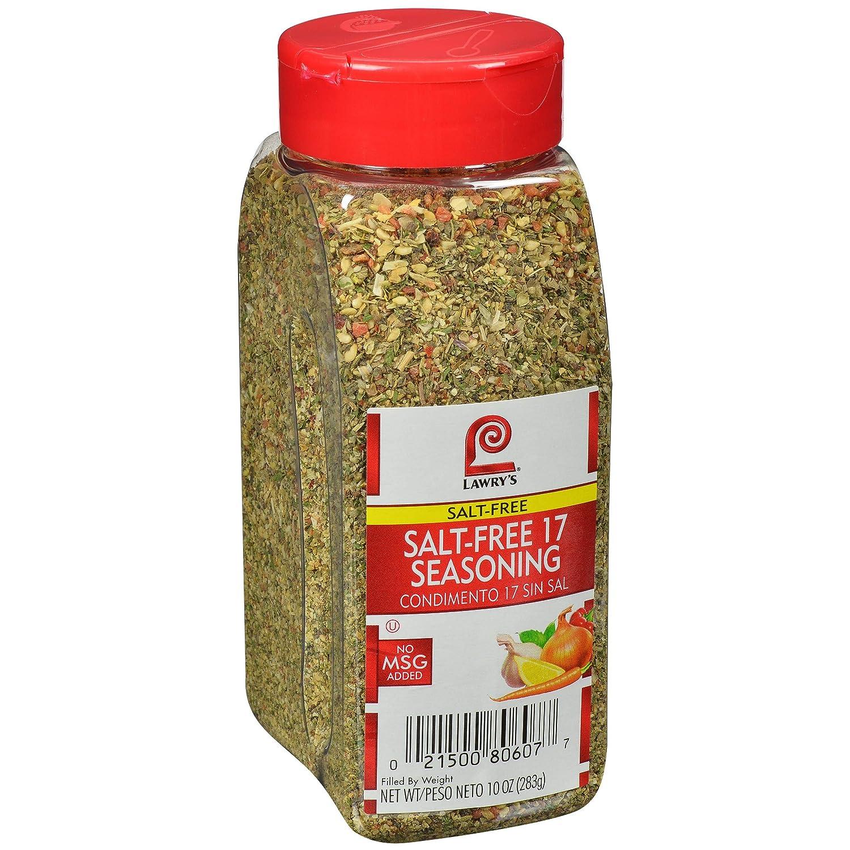Lawry's Salt Free 17 Seasoning, 10 oz