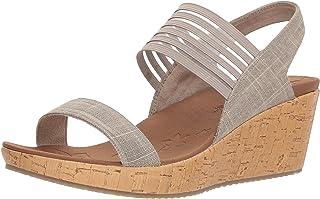 Skechers Cali Womens Beverlee Smitten Kitten Wedge Sandal