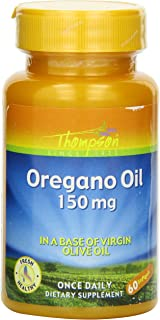 Thompson Oregano Oil , 150 Mg, 60 Softgels