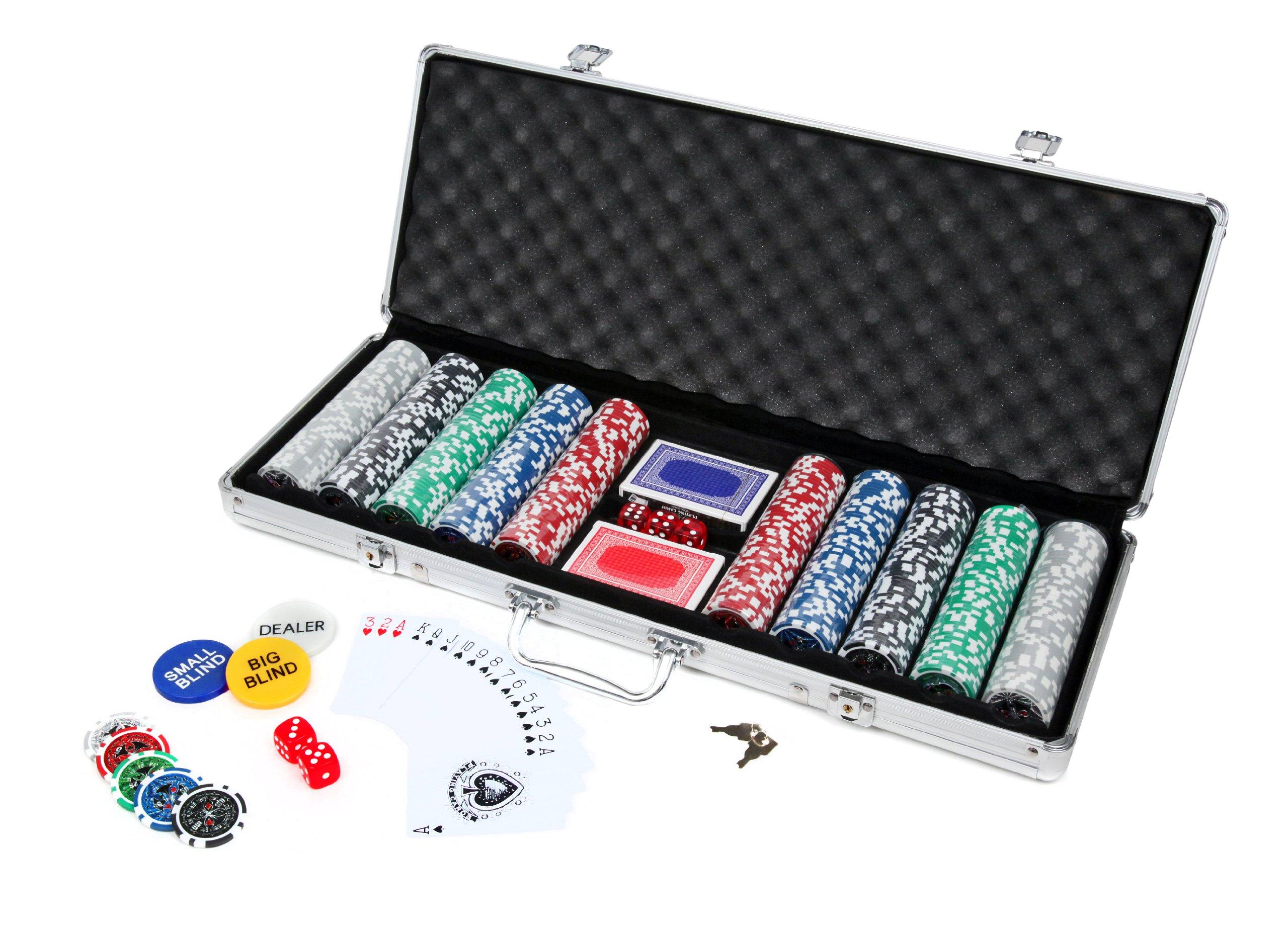 Ultrasport Poker Case - Juego de Cartas: Amazon.es: Deportes y aire libre