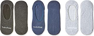 Timberland Men's TMA1EBS 3Pp Organic Cotton Invisible Sock