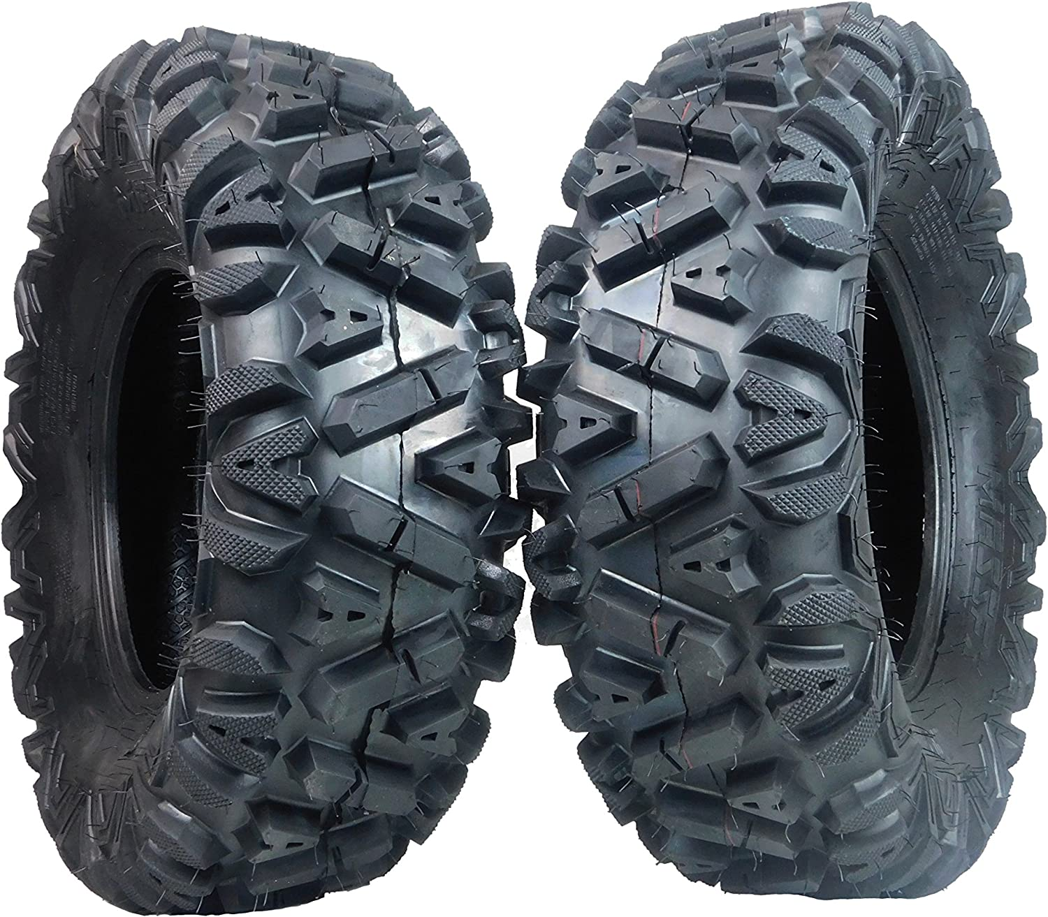 Two 26x9-12 KT MASSFX big free Tampa Mall TIRE SET hor TIRES SIX ATV PLY for 26